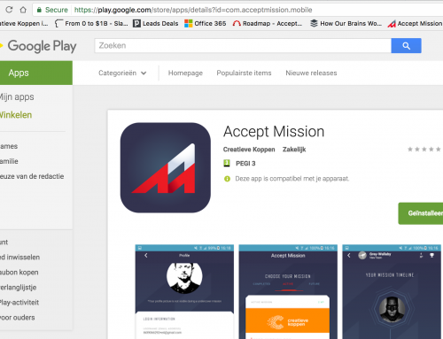 Accept Mission app live on Google Play store